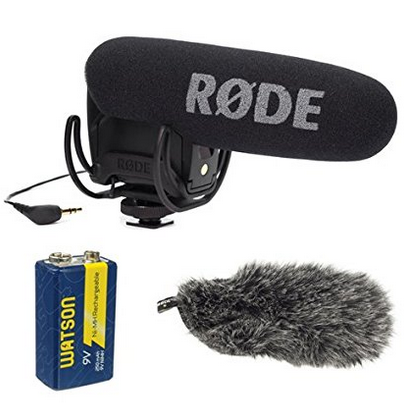 types of external mics for camcorders